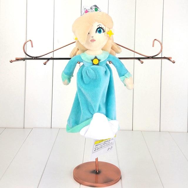 23 cm anime plaisir super mario en peluche jouet princesse rosalina