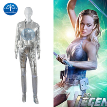 MANLUYUNXIAO  Women Costume Legends of Tomorrow White Canary Sara Lance Costume Halloween Carnival Cosplay Costume for Women