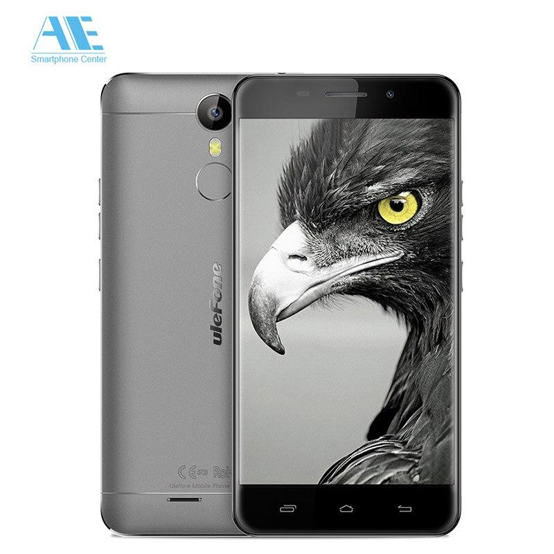 """Цена за Оригинал Ulefone Металла MTK6753 Octa Ядро Мобильного Телефона Finger ID 5.0 """"FHD 3 Г RAM 16 Г ROM Мобильный Телефон Android 6.0 4 Г LTE Смартфон"""