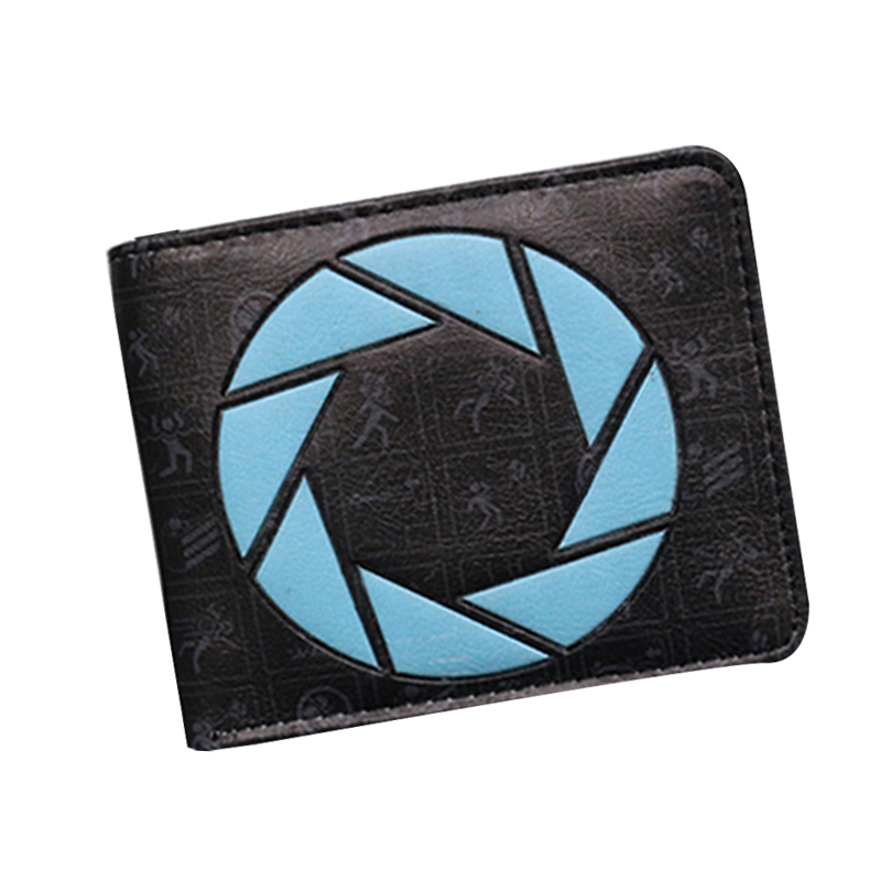 Fashion 2017 Mr Robot Portal American horror story Back to the future Supernatural Anime Wallet Leather Money bolsa Mens Purse the story of money