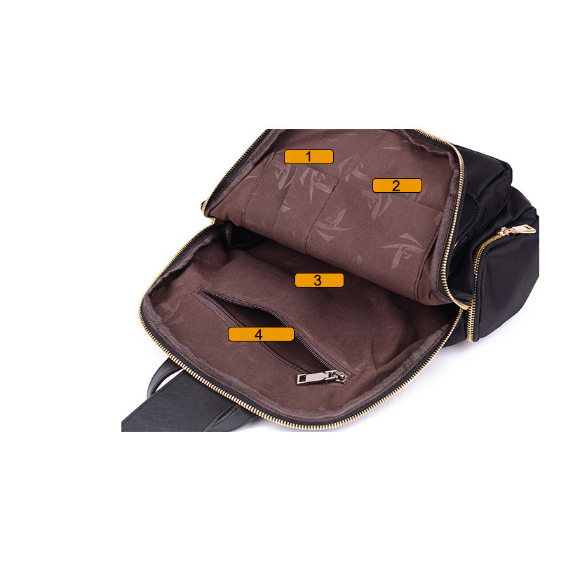 2018 Fashion Large Backpacks For Teenage Girls School Nylon Casual Bag Travel BagPack Big Black Womens Backpack
