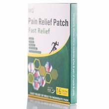 16 Pcs/box Far IR Treatment Chinese Herbal Medicine Paster Pain Relieving Patch for All Body Knee Joint Pain Relief Patch