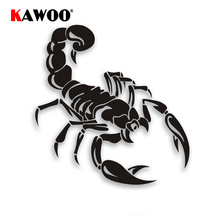 KAWOO COOL Scorpion Car Sticker High Quality PET Waterproof Auto Decals for Head Stocke Engine Hood and Backup Tire Sticker