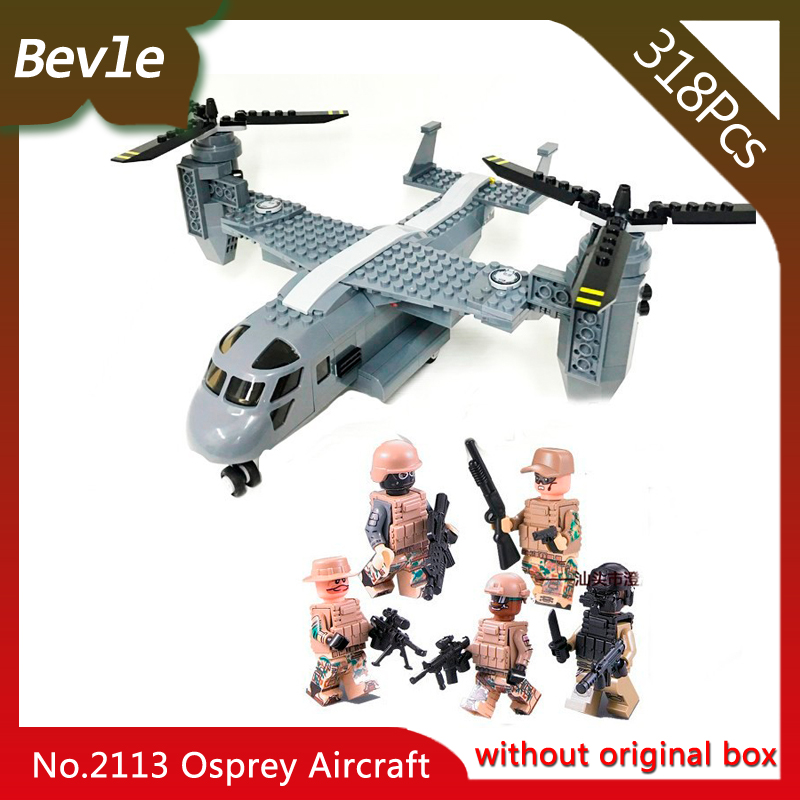 Bevle Store Lepin 2113 318Pcs S.W.A.T Series Osprey Helicopter military Model Building Blocks Bricks Children For Toys Decool ninjago juguetes military series armed helicopter blocks decool plastic diy educational bricks building model toys for children
