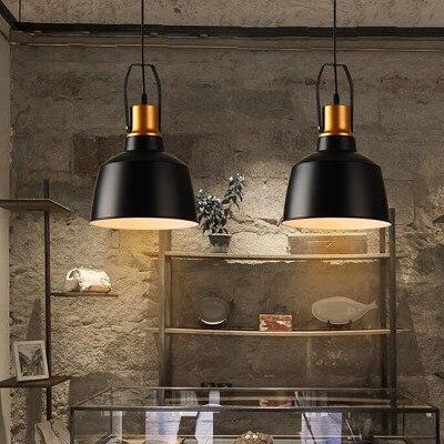 LOFT American restaurant, single head chandelier cafe bar, retro industrial bar lamps, personalized corridor lightsLOFT American restaurant, single head chandelier cafe bar, retro industrial bar lamps, personalized corridor lights