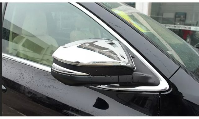 Car rear view mirror cover, side mirror cap for RAV4  2014,Type B,2pc/lot,free shipping