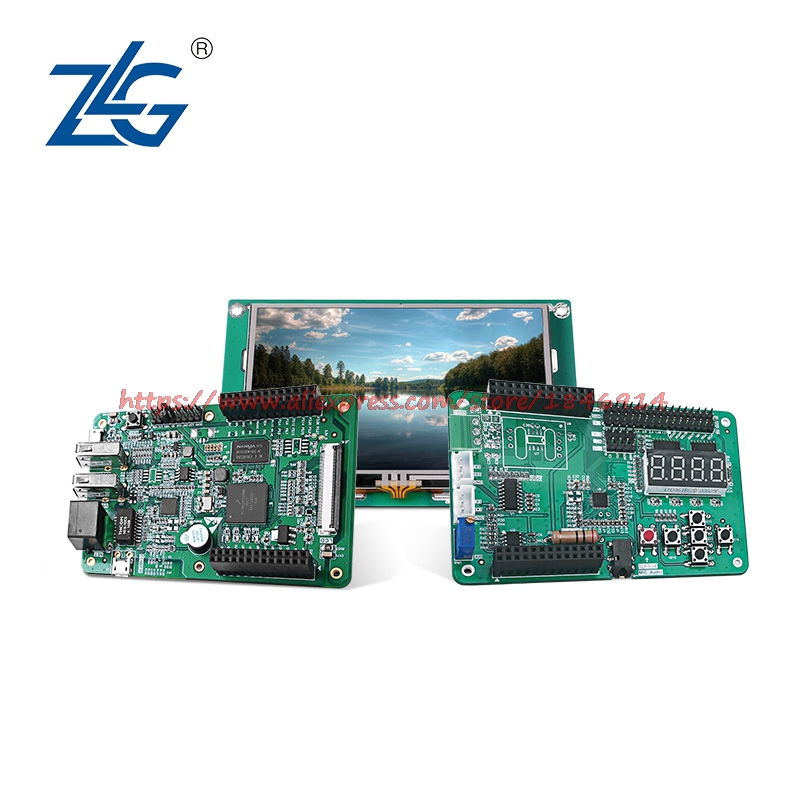 Free Shipping   AWork Platform ARM9 Development Board  I.MX283A Touch Screen