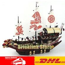 DHL Lepin 06057 2455 pcs Ninja Combat Final De Destin  de Bounty Building Block Compatible 70618 Brique Jouet