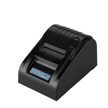 58mm thermal bill printer with 100km Reliability USB/LAN/Bluetooth interface receipt pos printer support linux, win10 zj-5890t