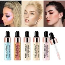 Cmaadu жидкий Хайлайтер для лица, крем для воды, Iluminador, Make Up, высокая зажигалка, фестиваль, блеск для тела, изюминка, Maquillage