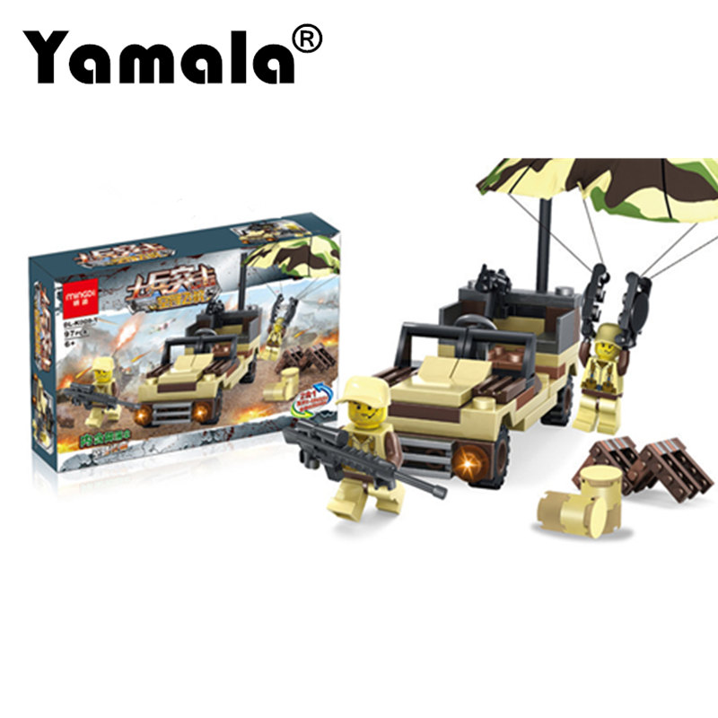 [Yamala]Military Firewire Blocks Soldier War Weapon Bricks Building Blocks Sets Classic Airman Toys For Children DIY Heavy Gun xinlexin 317p 4in1 military boys blocks soldier war weapon cannon dog bricks building blocks sets swat classic toys for children