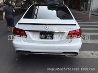 Fit für Mercedes benz 2015 W212 E320L E260L E300L E63 ABS hinten spoiler heckflügel mit anpassen DIY farbe spoiler Keine farbe sp|rear wing|spoiler rearrear spoiler -