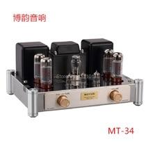 Reisong Boyuu MT-34 EL34 Push-вытяжная трубка усилитель HIFI EXQUIS 6CA7 лампа amp BYMT34