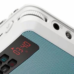 Image 5 - Mini alto falantes bluetooth portátil, rádio fm, mãos livres, com suporte para cartão tf, gravador e lanterna