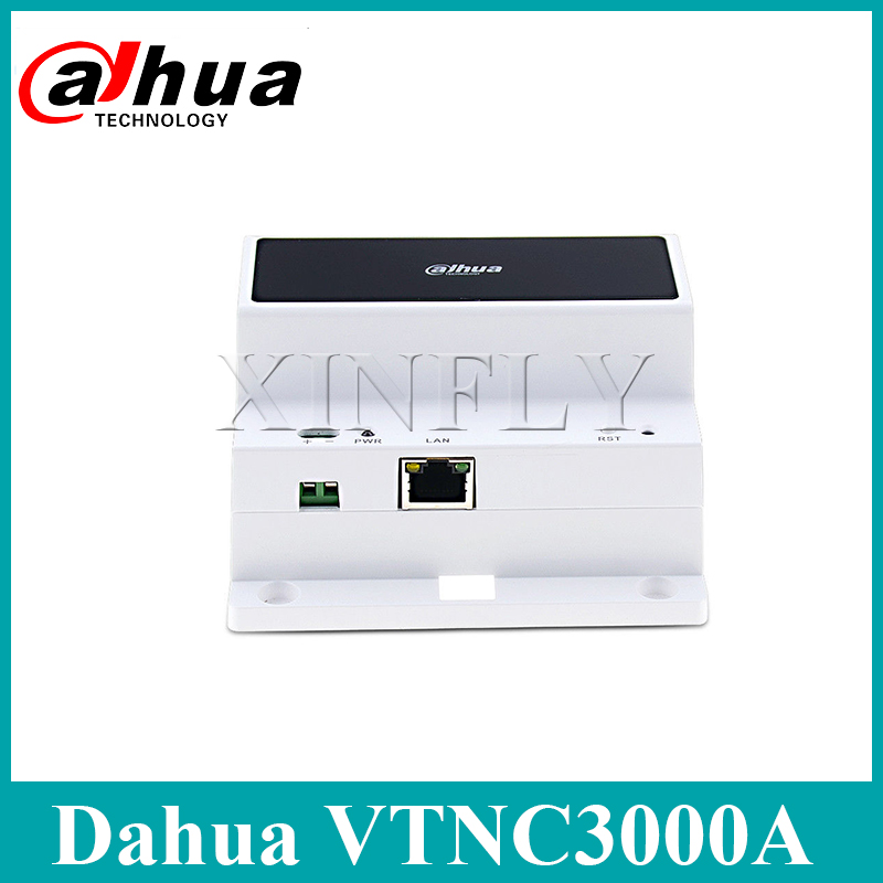Dahua VTNC3000A 2-Wire Network Controller IPC Surveillance For VTH1550CHW-2 Video Intercom With Dahua Logo