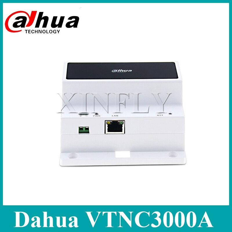 Dahua VTNC3000A 2-Wire Network Controller IPC Surveillance For VTH1550CHW-2 Video Intercom With Dahua Logo