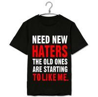 Bts Jungkook Same Need New Haters Printing O Neck Short Sleeve T Shirt Summer Kpop Bangtan