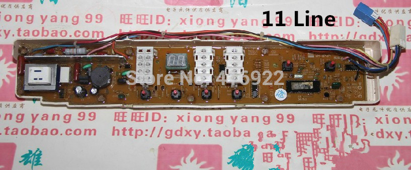 Free shipping 100% tested for Sanyo washing machine board xqb70-s821 xqb70-s8218 xqb70-688 motherboard on slae washing machine board dlwl 6510 xqb65 6510 xqb70 7010a motherboard