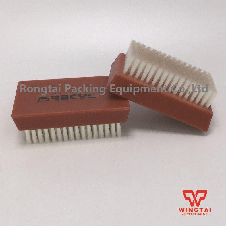 Nylon Cylinder/Rubber Roller Brush,Plastic Handle Roller Brush 0 2mm nylon plate cleaning brush nylon cylinder roller brush use for ceramic anilox roll metal roller