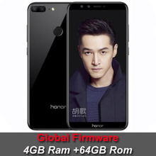 """Global Rom Huawei Honor 9 Lite 5.65"""" Full View Screen 2160*1080Pix Android 8.0 Smartphone Octa Core 4 Cameras 13MP mobile phone(China)"""