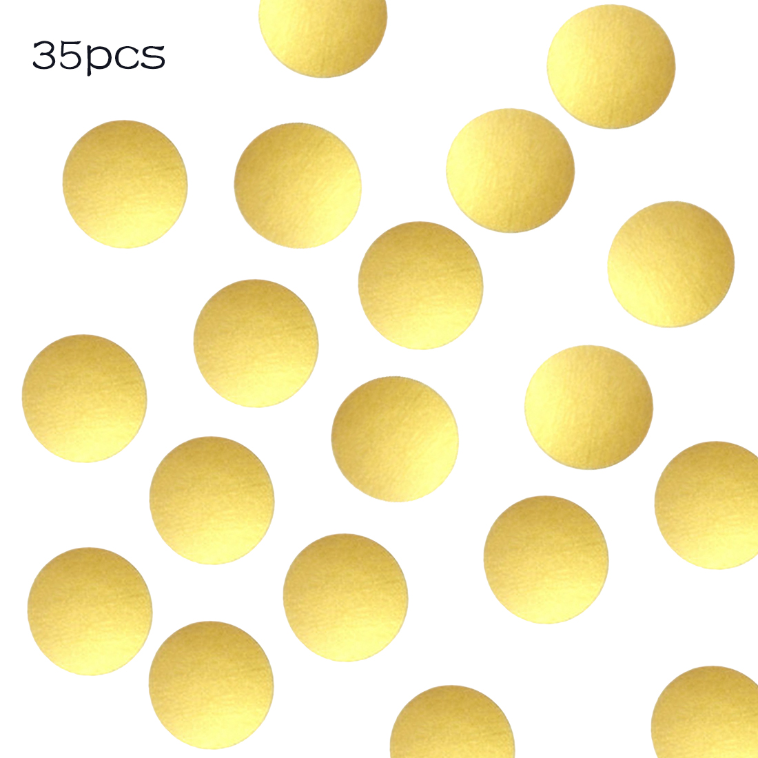 Gold Polka Dots Wall Sticker Baby Nursery Stickers Kids Children ...
