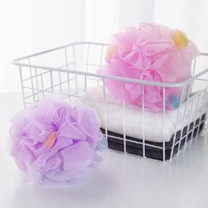 Image 1 - FOURETAW baignoire de bain douce de grande taille, boule de bain, boule de bain fraîche, serviette de bain, nettoyage en maille, produit éponge de lavage