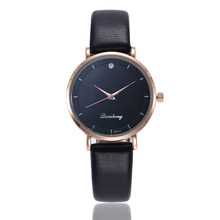 цены Top Brand Crystal Watch Women Luxury Brand Rose Gold Leather Dress Wrist Watches Woman Ladies Quartz Watch Clock Drop Shipping
