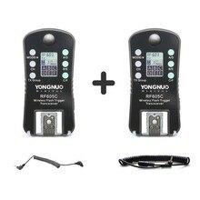 Yongnuo rf rf605c rf 605c rf605 c wireless trigger flash cho canon phiên bản nâng cấp của rf 603ii