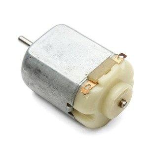 1 шт. мини микро двигатель постоянного тока 3 в 16500 об/мин 130 игрушечный двигатель микро-двигатель для игрушек DIY хобби маленький автомобиль
