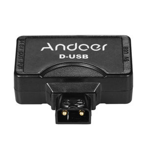 Image 5 - Andoer D Tap 5V USB Adapter Connector for V Mount Camcorder Camera Battery for BMCC Smartphone Monitor USB Adapter Connector
