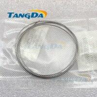 Tangda High Pure Tantalum Wire 99 99 Ta Diameter 1mm Scientific Research Laboratory Metal Bar Rod