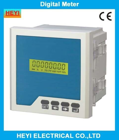 Trois phase numérique ACTIVE électrique compteur d'énergie LCD HY-3E Série