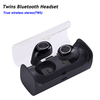 New Mini Invisible Twins True Wireless Bluetooth Earphones CSR 4 1 Handsfree Earbuds For IPhone 7