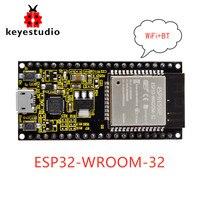 Новый Keyestudio ESP32-WROOM-32 модуль основной платы/Wi-Fi + BT + BLE микроконтроллер для Arduino