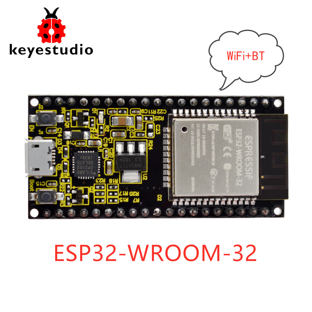 2019New Keyestudio ESP32-WROOM-32 Module Core  Board /Wi-Fi+BT+BLE MCU  For Arduino