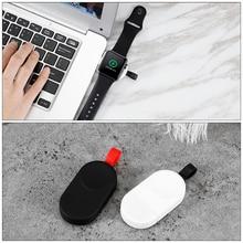 2 цвета портативное беспроводное зарядное устройство для I Watch зарядная док-станция USB зарядное устройство кабель для Apple Watch Series2 3 4