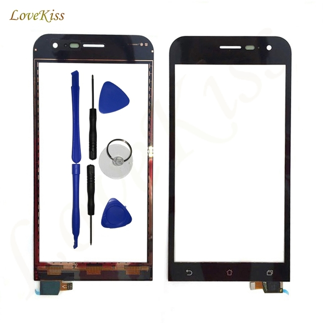 pretty nice 61b13 c5372 US $6.24 |Front Panel Touchscreen For Asus ZenFone 2 ZE500CL Z00D Touch  Screen Sensor LCD Display Digitizer Glass TP Cover Replacement-in Mobile  Phone ...