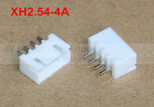 50 шт./лот XH2.54-4A XH2.54 мужской пиновый разъем 2.54 мм 4PIN Бесплатная доставка