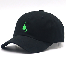 New Fashion dad hat dinosaur embroidery baseball cap 100% co
