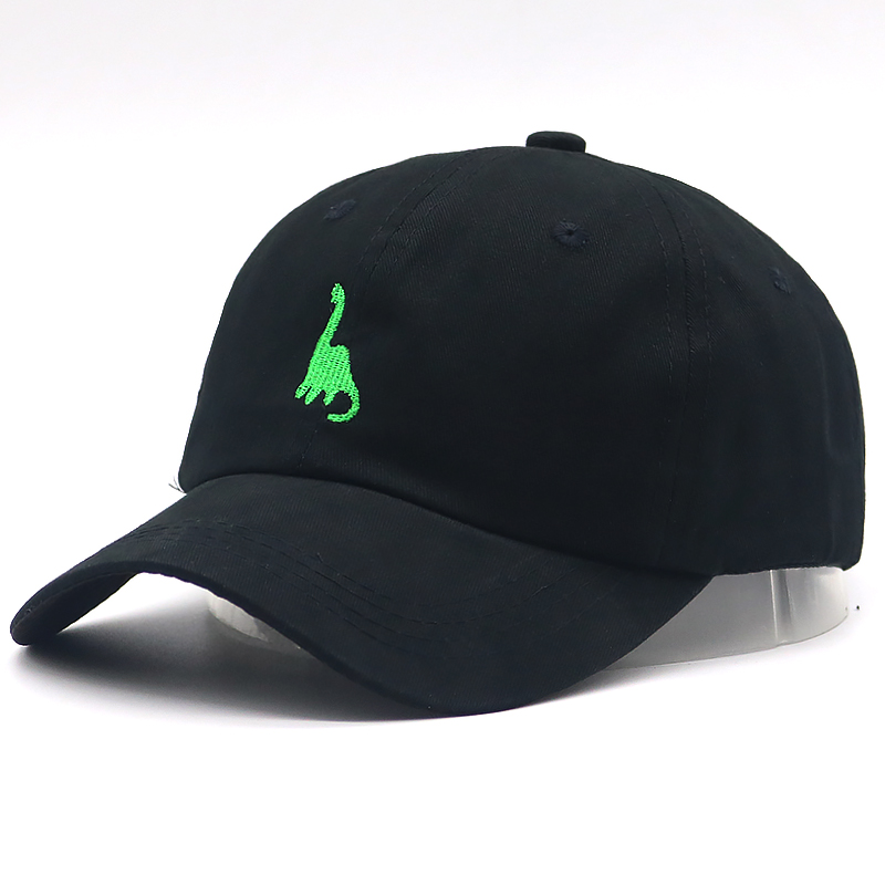 New Fashion dad hat dinosaur embroidery   baseball     cap   100% cotton adjustble hip hop sports hats unisex casual   caps   sun hat