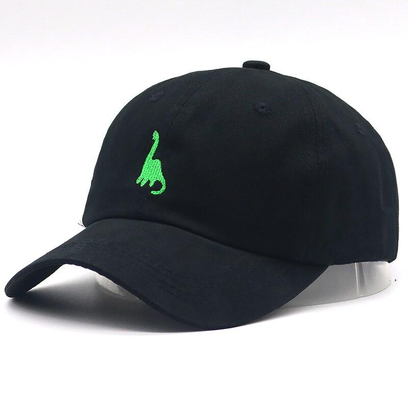 New Fashion dad hat dinosaur embroidery   baseball     cap   100% cotton adjustble hip hop sports hats unisex casual   caps   sun hat