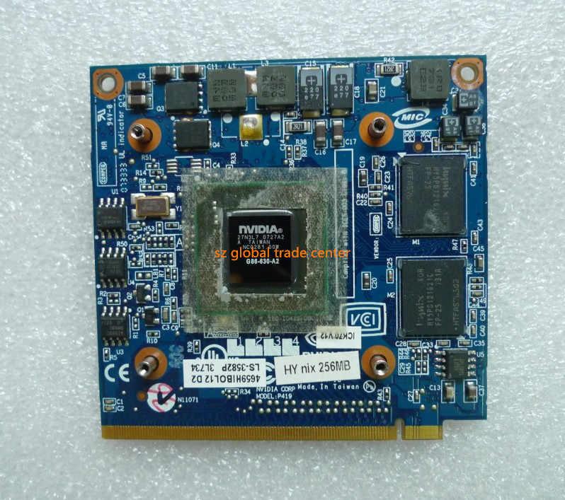 ل غيفورسي 8400M GS 8400MGS DDR2 128MB الرسومات بطاقة فيديو لشركة أيسر أسباير 5920G 5520 5520G 4520 7520G 7520 7720G شحن مجاني