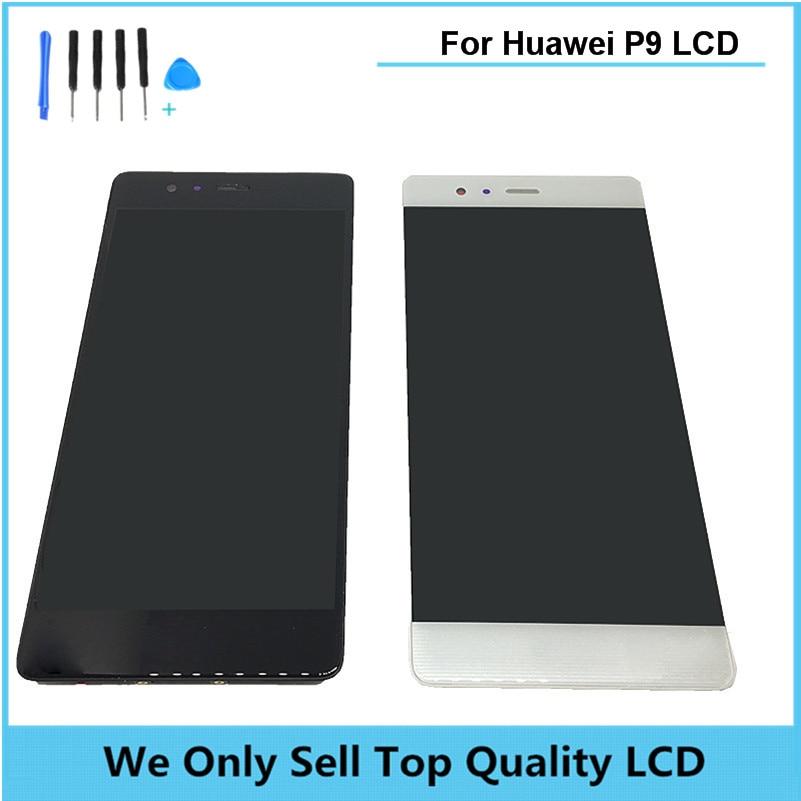 Lcd original para huawei p9 estándar con pantalla táctil con digitalizador asamb