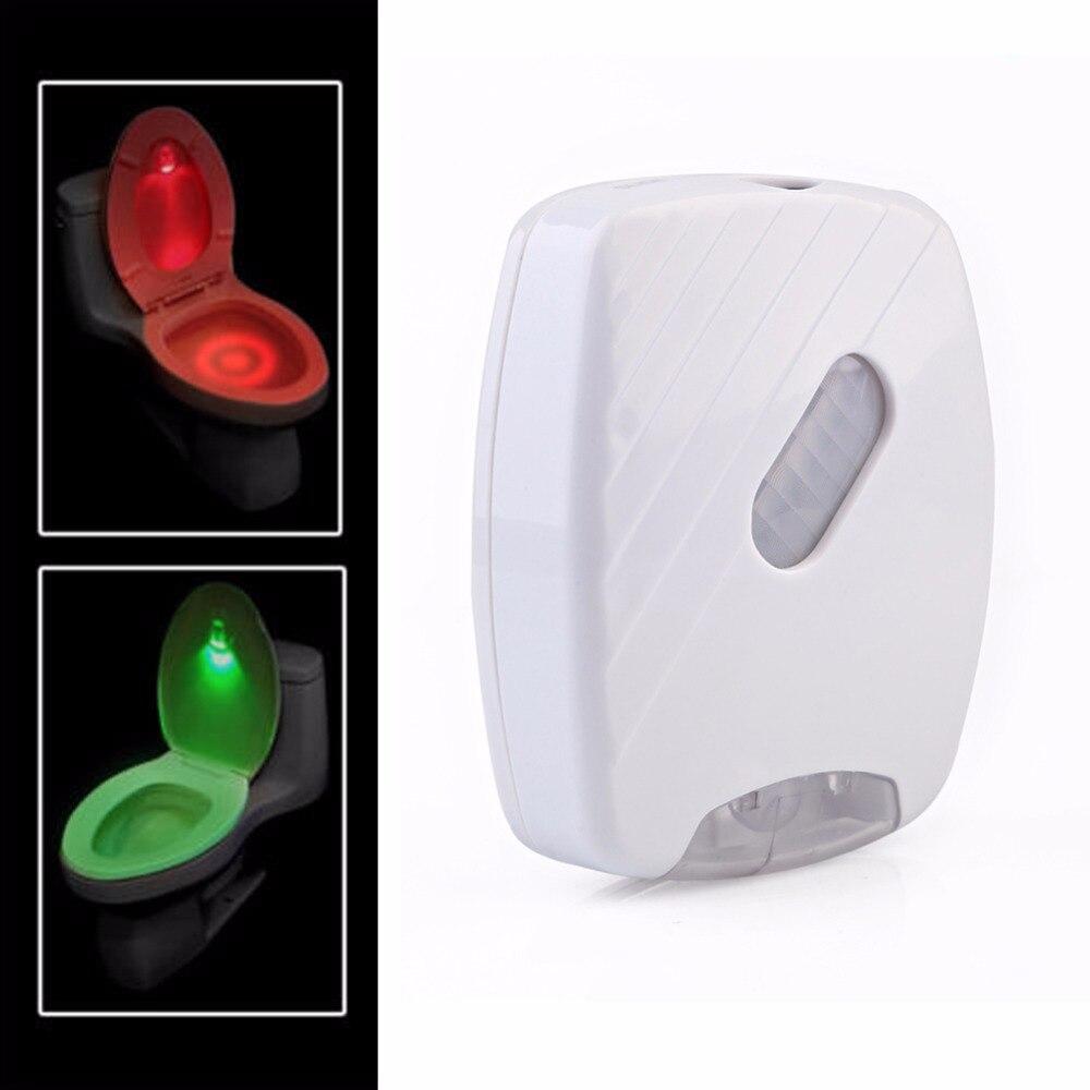 1 Set Motion Activated Flush Toilet Lamp Led Toilet Light Sensor Toilet Light Battery Operated