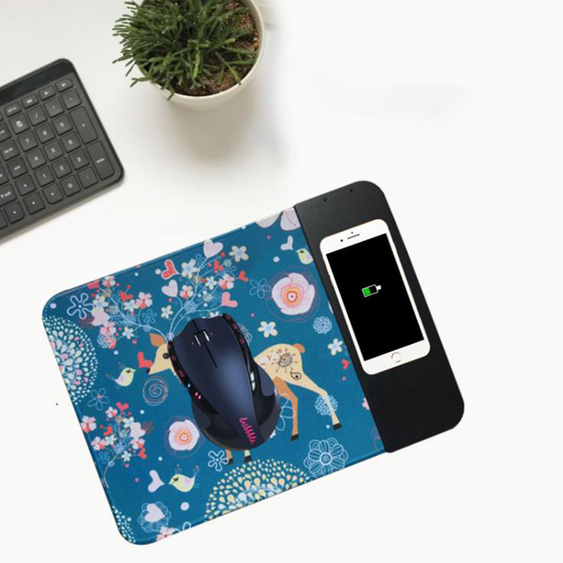 Universal Desktop Wireless Mobile Phone Chargers Gaming Mouse Charger Pad Phone Charger Mat Writing Tablet for Smartphone