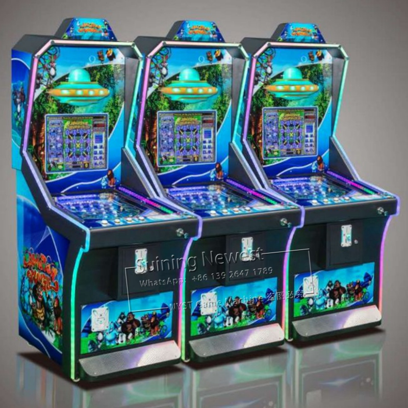 NYST Suining 2019 Newest Design Africa Amusement Park Equipment Token Coin Operated Pinball Machine image