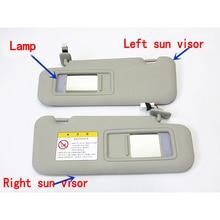 SKTOO accessori per auto con lampada sun visor per Mazda M3 Axela con un make-up occhiali da sole a specchio visiera