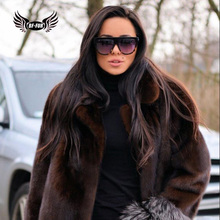 BFFUR Camouflage Genuine Natural Mink Fur Short Coat Women Clothes 2018 Casual Outerwear Too Keep Warm In Winter Harajuku Parka