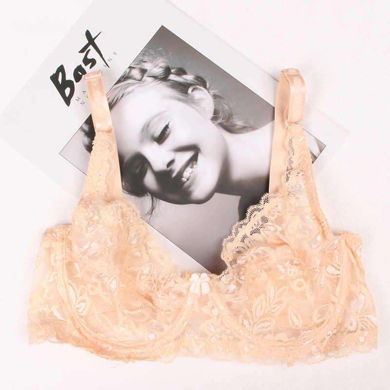 HIBUBBLE ผู้หญิง Bra เซ็กซี่ Bra ลูกไม้บาง brassiere ชุดชั้นใน Push Up Bras bralette สำหรับผู้หญิง bralette Sujetador BH 34-40B