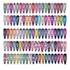 20Pcs/Set Cute Cartoon Snap Metal Hairpins Flower Fruit Print for Kids